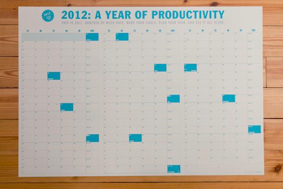 Neuyear Calendar - James Martin // Design