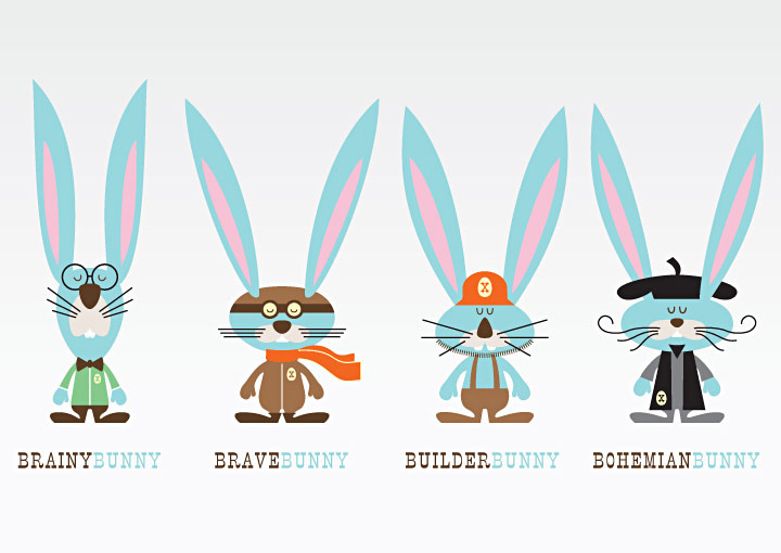 Character Design Manual : Target easter seedbed